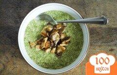 Фото рецепта: «Суп с брокколи и грибами»