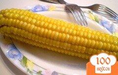 Фото рецепта: «Кукуруза с маслом и солью»