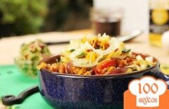Фото рецепта: «Рис с курицей и овощами»