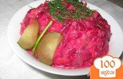 Фото рецепта: «Салат из свеклы по-белорусски.»