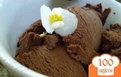 Фото рецепта: «Шоколадное мороженое»