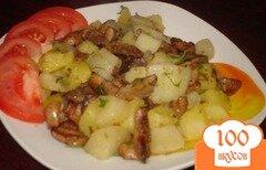 Фото рецепта: «Сыроежки с картошкой»
