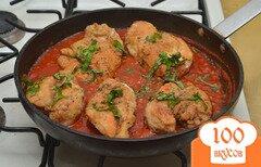 Фото рецепта: «Куриное филе в пикантном томатном соусе»