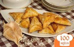 Фото рецепта: «Самса (Самоса) с курицей»