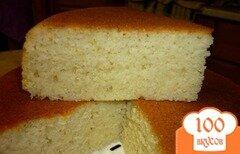 Фото рецепта: «Манник на кефире в мультиварке»