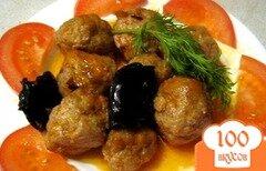 Фото рецепта: «Тефтели с черносливом»