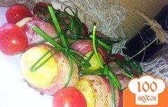 Фото рецепта: «Картошечка в беконе»