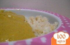 Фото рецепта: «Детское овощное пюре с хеком на пару»