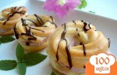 Фото рецепта: «Заварные пирожные «Нежность»»