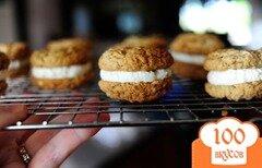 Фото рецепта: «Овсяное печенье с начинкой»
