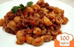 Фото рецепта: «Паста а-ля болоньез»