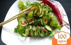 Фото рецепта: «Закуска из огурцов по-китайски»