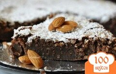 Фото рецепта: «Шоколадный миндальный торт»