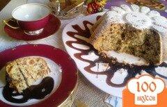 Фото рецепта: «Кекс с орехами, изюмом и лимоном.»