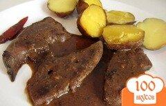 Фото рецепта: «Жареная телячья печень»