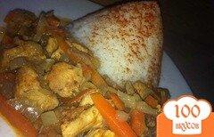 Фото рецепта: «Индейка с соусом карри»