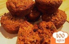 Фото рецепта: «Яблочно-морковные кексы»