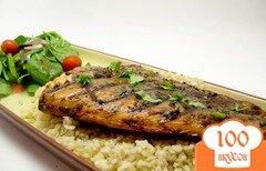 Фото рецепта: «Жареный лосось»
