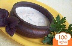Фото рецепта: «Горчично-сметанный соус»