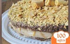 Фото рецепта: «Грушево-шоколадный торт»