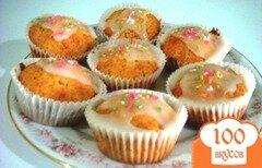 Фото рецепта: «Кексы с сахарной глазурью»