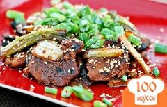 Фото рецепта: «Корейский шашлык из свинины»