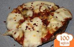 Фото рецепта: «Грибная пицца с артишоками»