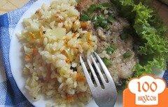 Фото рецепта: «Рисовый гарнир к рыбе»
