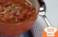 Фото рецепта: «Суп из говяжего фарша»