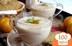 Фото рецепта: «Фруктовый тофу-смузи с абрикосовым конфитюром»