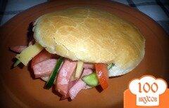 Фото рецепта: «Традиционная арабская пита в украинском исполнении)»