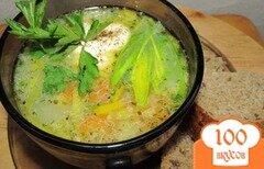 Фото рецепта: «Деревенский суп с пшеном и индейкой»