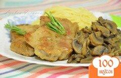 Фото рецепта: «Свинина с грибами»