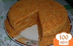 Фото рецепта: «Торт Медовик»