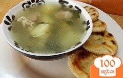 Фото рецепта: «Суп из барашка с сельдереем»