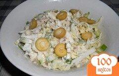 Фото рецепта: «Салат с тунцом и пекинской капустой»