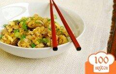 Фото рецепта: «Рис со свининой и грибами»