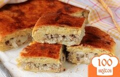 Фото рецепта: «Пирог со скумбрией»