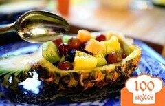 Фото рецепта: «Cалат с ананасом»