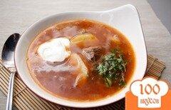 Фото рецепта: «Суп из говядины с тмином»