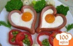 Фото рецепта: «Романтический завтрак на двоих»