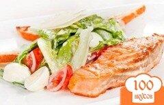 Фото рецепта: «Рыба, запеченая с овощами и сыром»