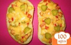 Фото рецепта: «Горячий бутерброд по-итальянски»