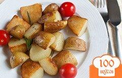 Фото рецепта: «Жареный молодой картофель»