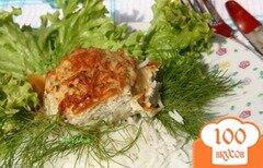 Фото рецепта: «Рыбные биточки, запечённые в рыбном соусе»