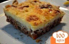 Фото рецепта: «Пастуший пирог с чеддаром»