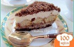 Фото рецепта: «Десерт с халвой , клюквой и сливками»