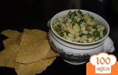 Фото рецепта: «Кукурузный салат с халапеньо»