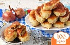 Фото рецепта: «Жареные пирожки с картофелем и грибами»