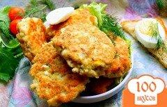 Фото рецепта: «Рыбные котлеты рубленые»
